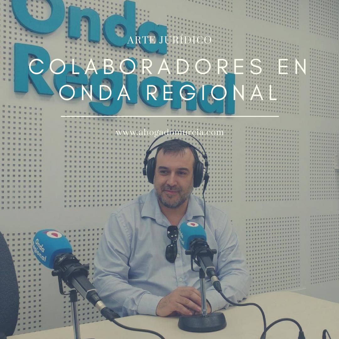 Arte Juridico Abogados Murcia. Colaboradores en Medios de Comunicación