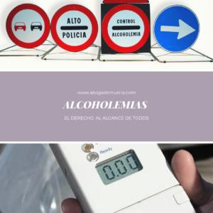 ALCOHOLEMIA. Abogados Murcia