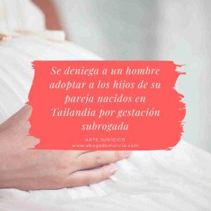 Denegación maternidad subrogada