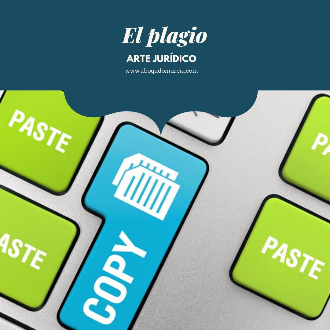 El plagio. Abogados Murcia.