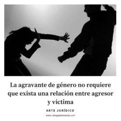 sin relación entre víctima y agresor. Abogados Murcia.