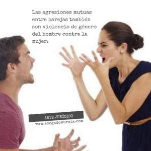 Violencia de género. Agresiones Mutuas