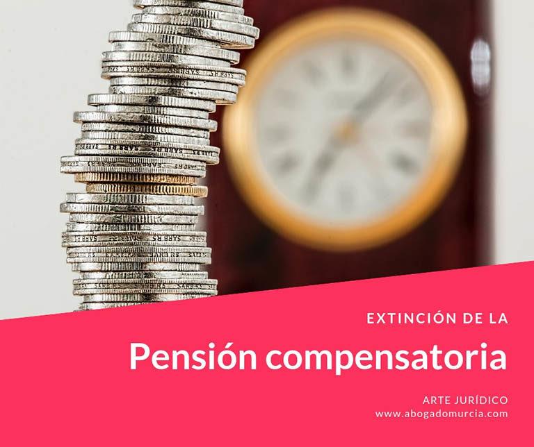Extinción Pensión compensatoria