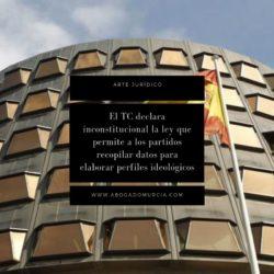 Tribunal Constitucional. Abogado Murcia