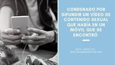 Difusión de video llegal. Abogados Murcia.