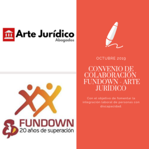 Convenio Fundown Arte Jurídico